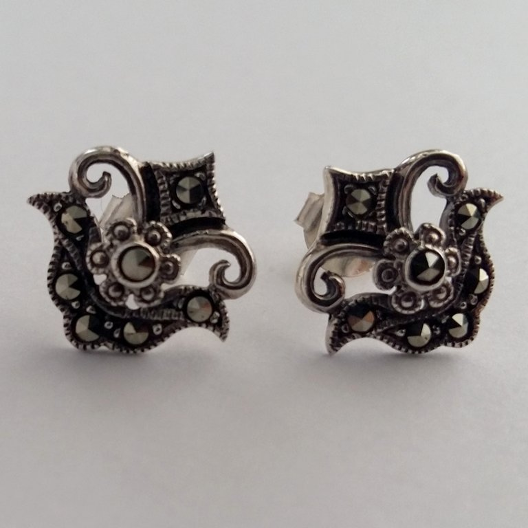 Marcasite Earrings Julia