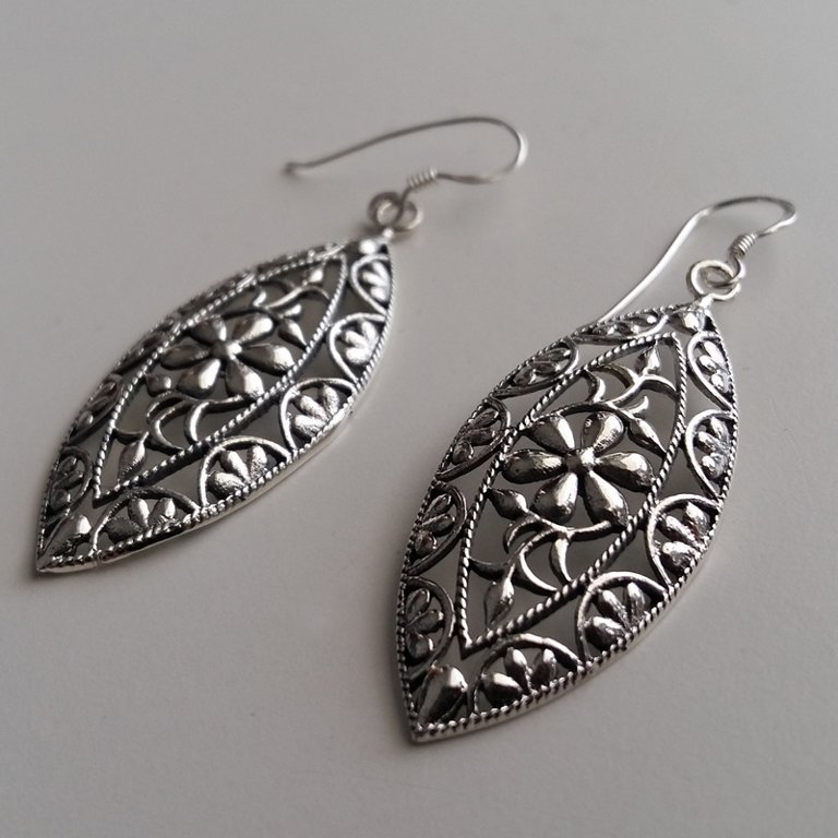 Sterling Silver Earrings La Bohemia