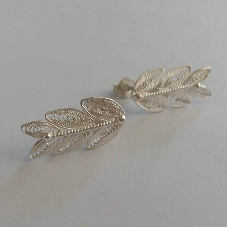 Filigree Earrings Laurel Blanco