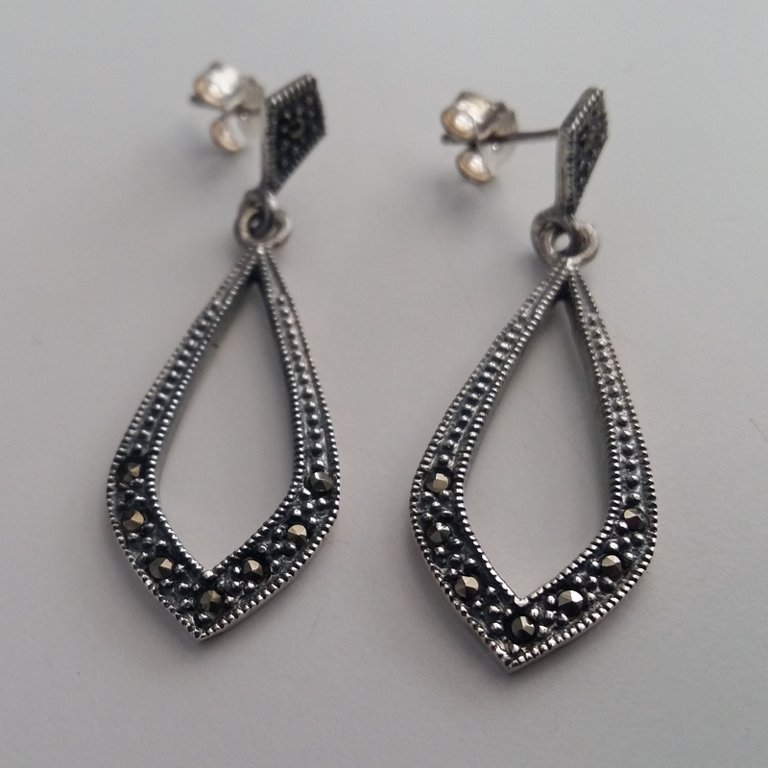 Marcasite Earrings Marta