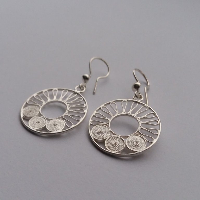 Filigree Earrings Rocio