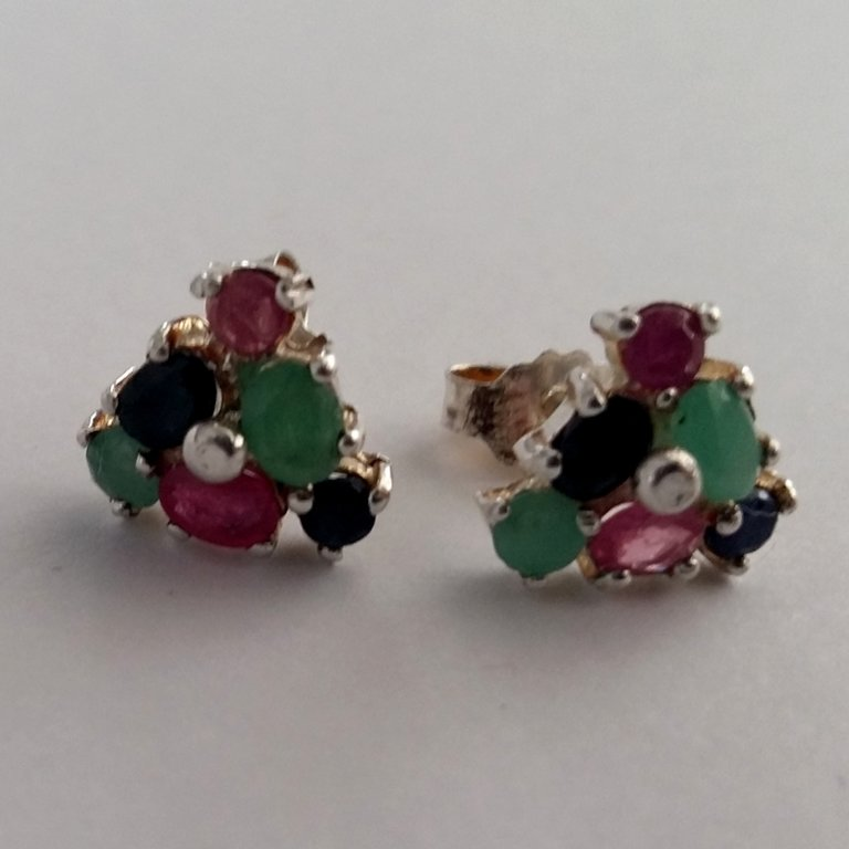 Earrings with Gems Triana