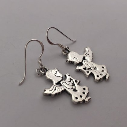 Silver Earrings Angelito