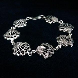 Silver Bracelet Las Conchas