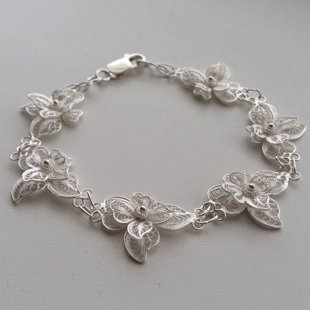 Filigree Bracelet Light Orchid