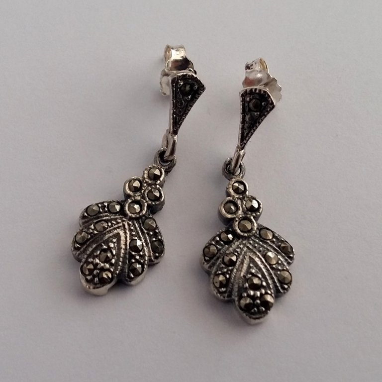 Marcasite Earrings Claudia