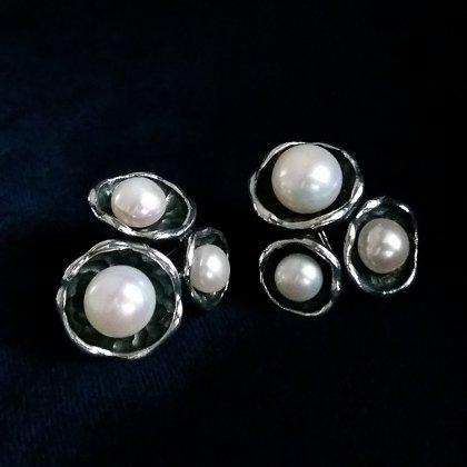 Pērļu auskari El Trio de Perlas