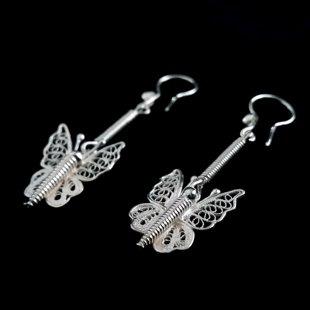 Filigree Earrings Mariposa Filigrana