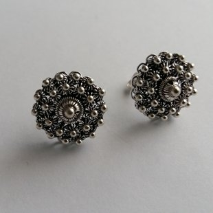 Charro Earrings Salamanca, dark