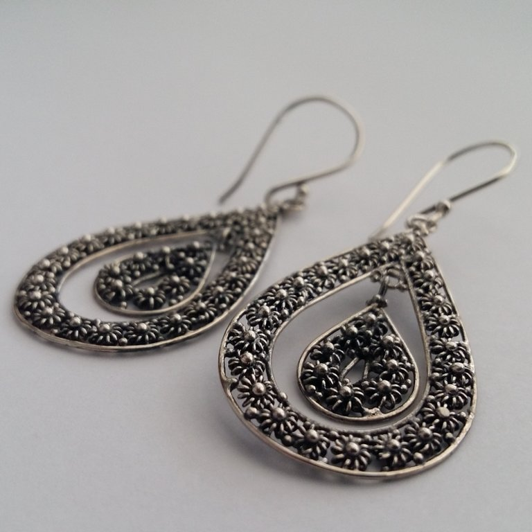 Earrings with Charro Element Solea