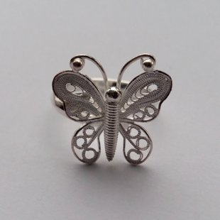Filigree Ring Mariposa