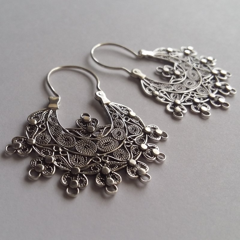 Filigree Earrings Salmantino