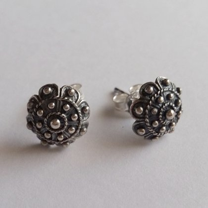 Small Charro Stud Earrings