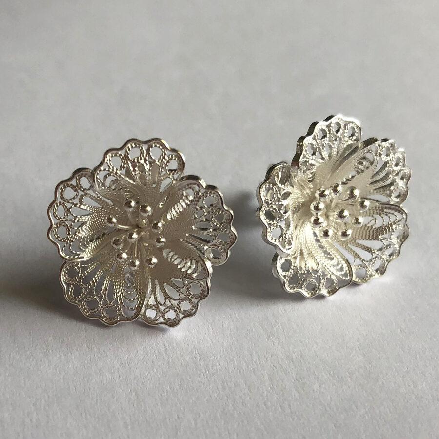 Filigree Earrings Almendro Light