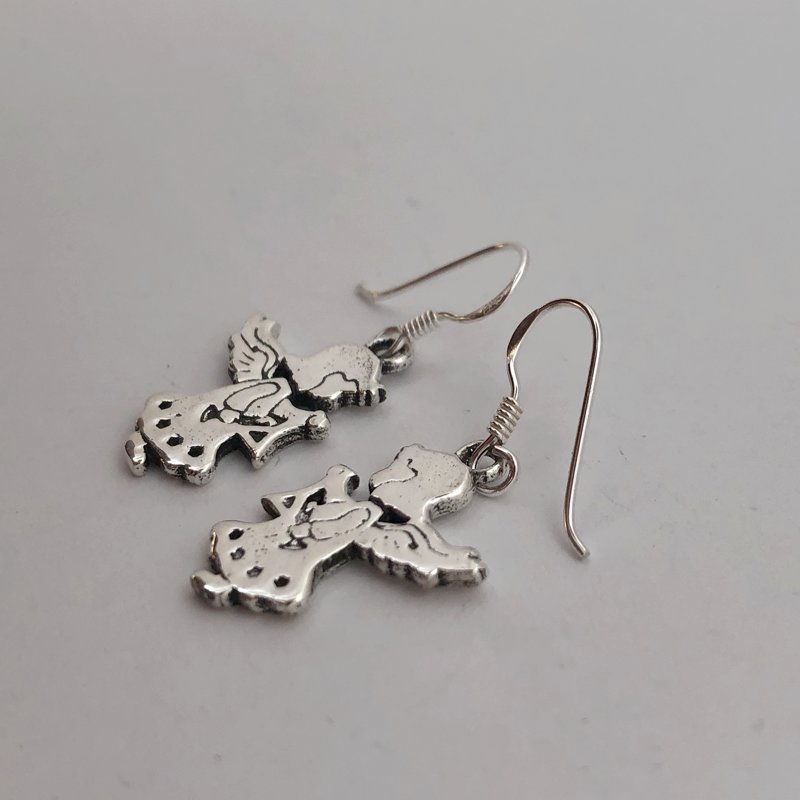 Silver Earrings Angelito