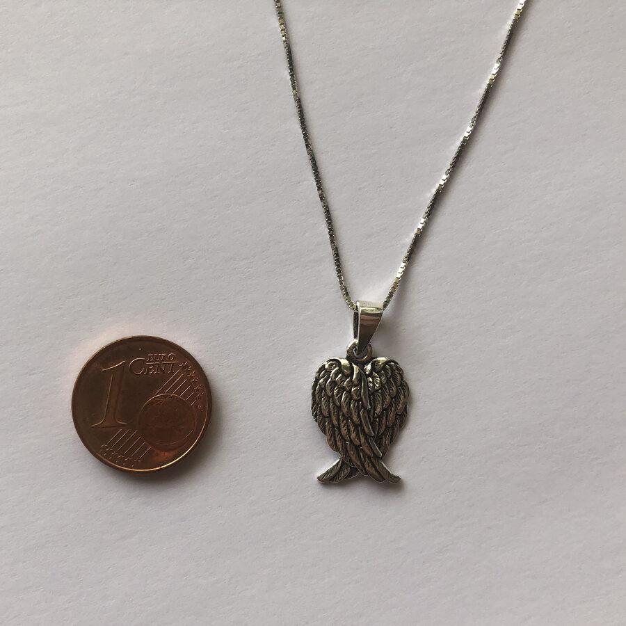 Silver Pendant Angel Wings