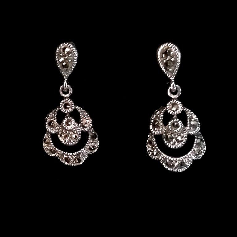 Marcasite Earrings Laura