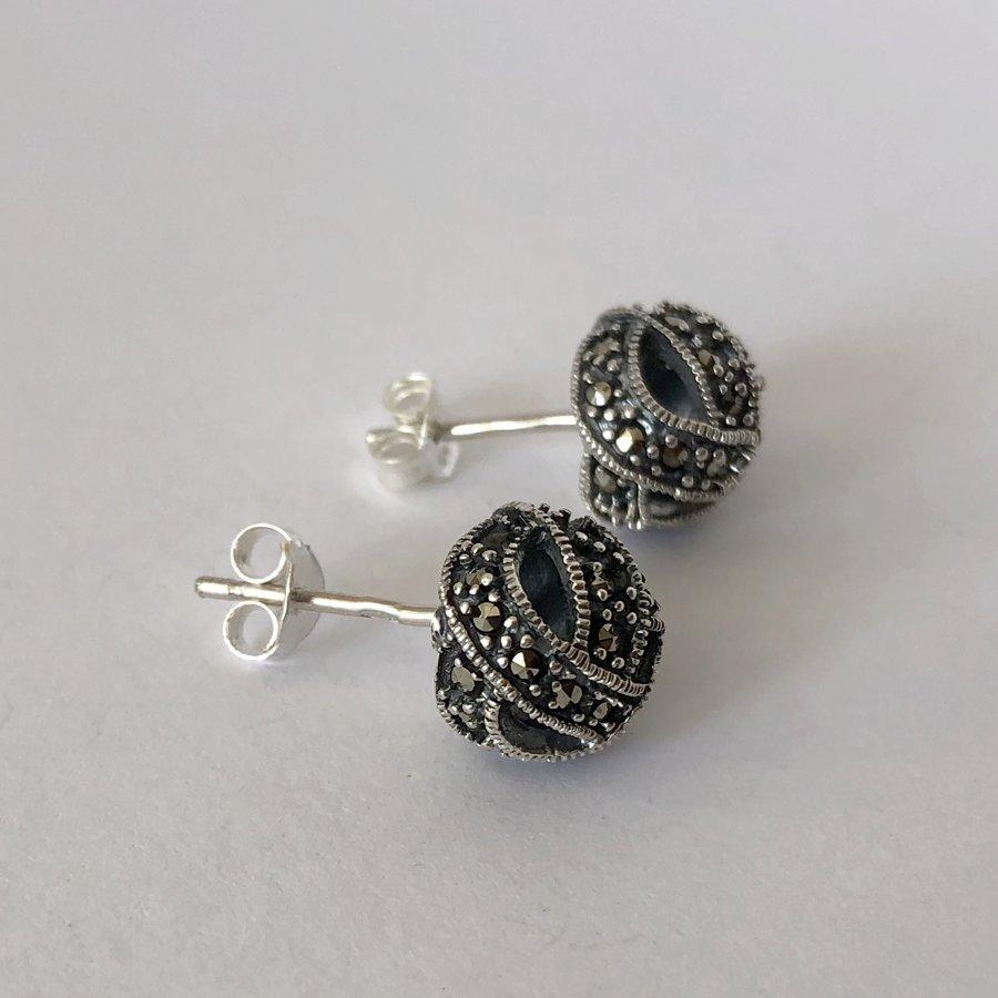 Marcasite Earrings Beatriz