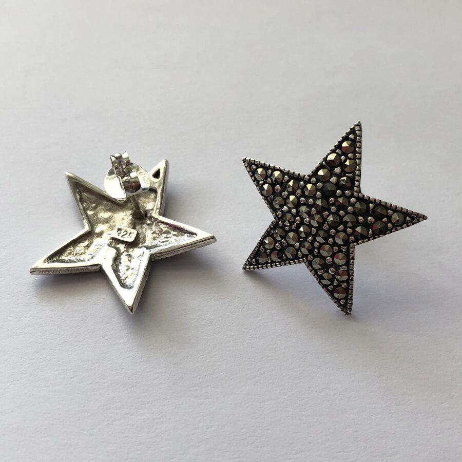 Big Star Earrings Estrella Grande