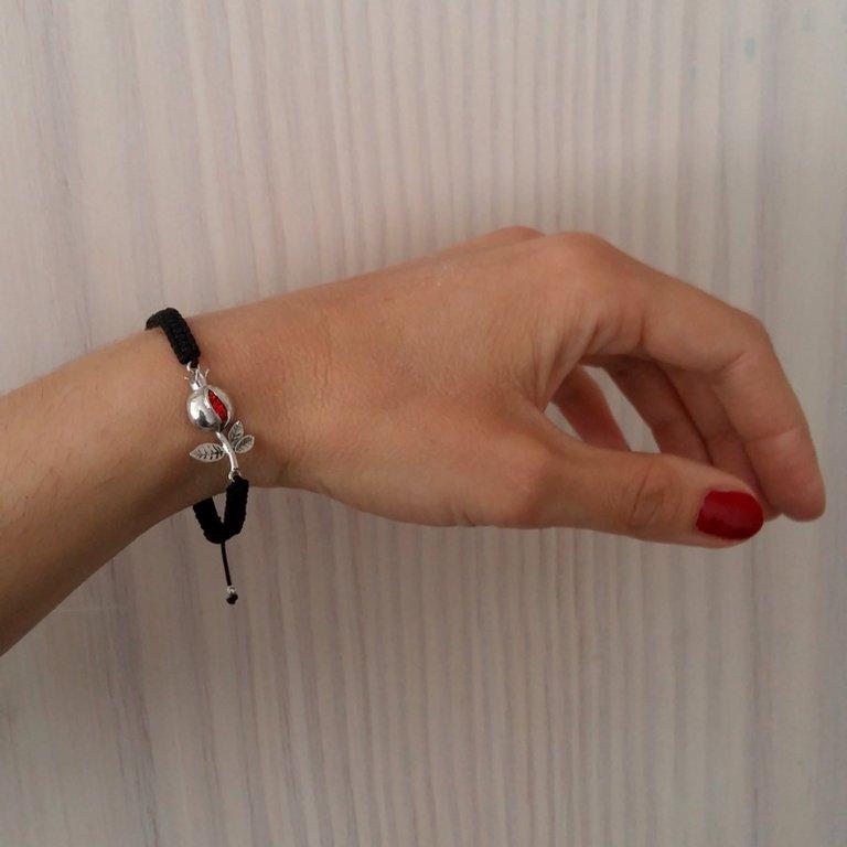 Bracelet with Silver Element Granada