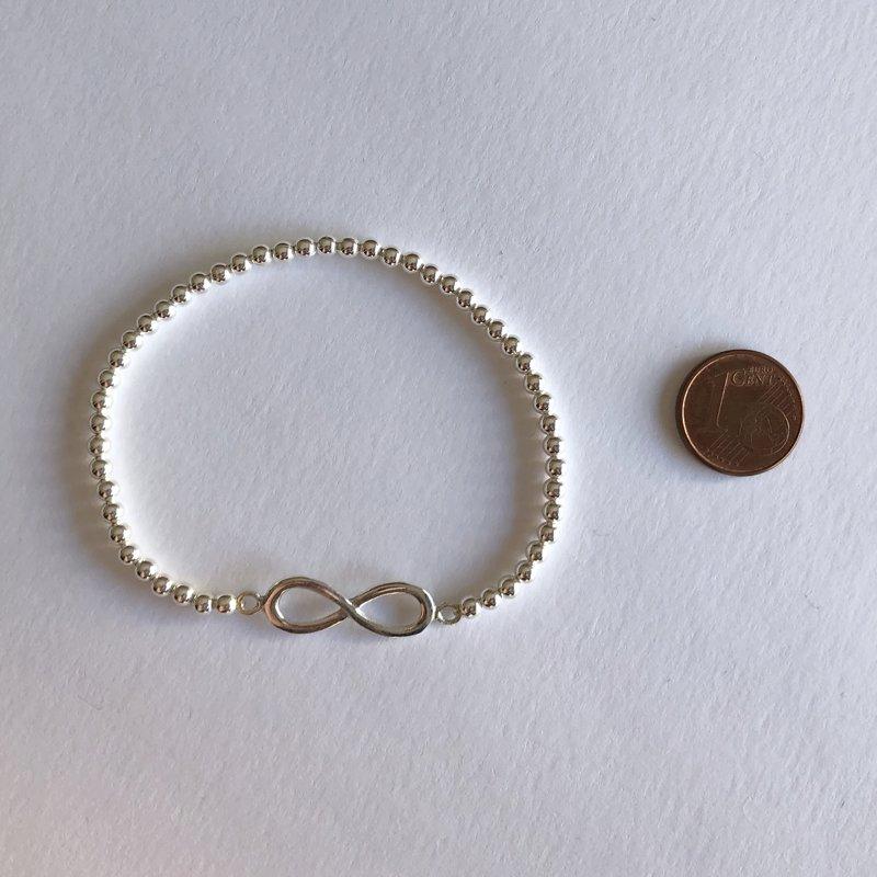 Silver Bracelet Infinito
