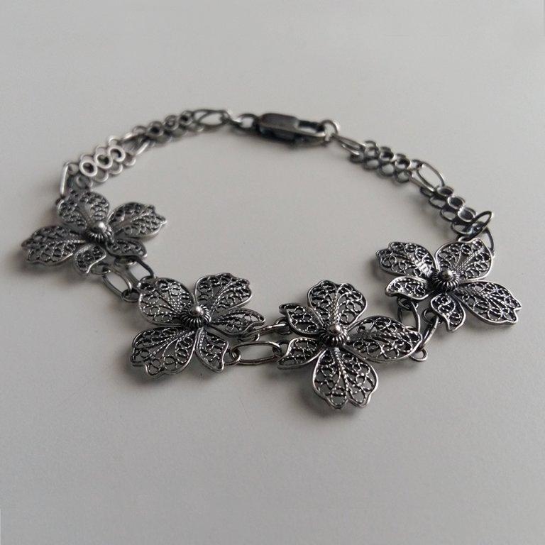 Filigree Bracelet Orquidea Oscura