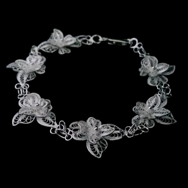 Filigree Bracelet Light Orchid