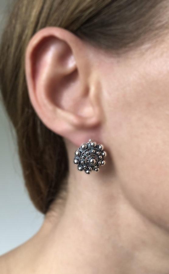 Large Charro Stud Earrings
