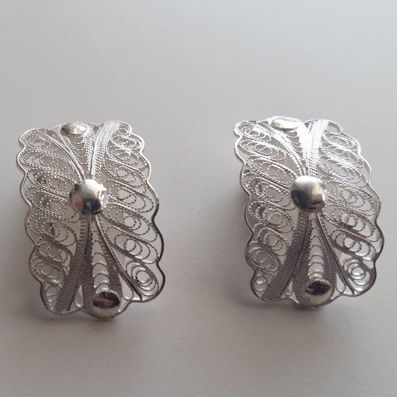 Clip On Earrings Belleza Filigrana