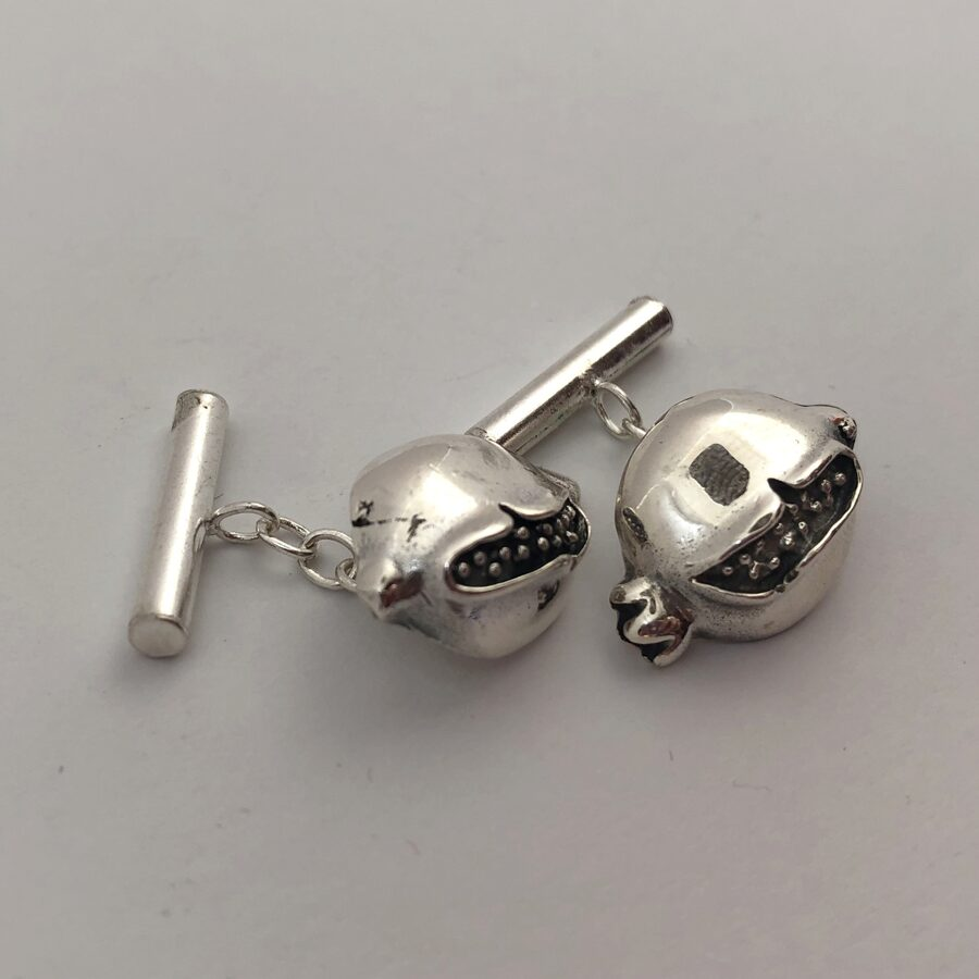 Silver Cufflinks Granada
