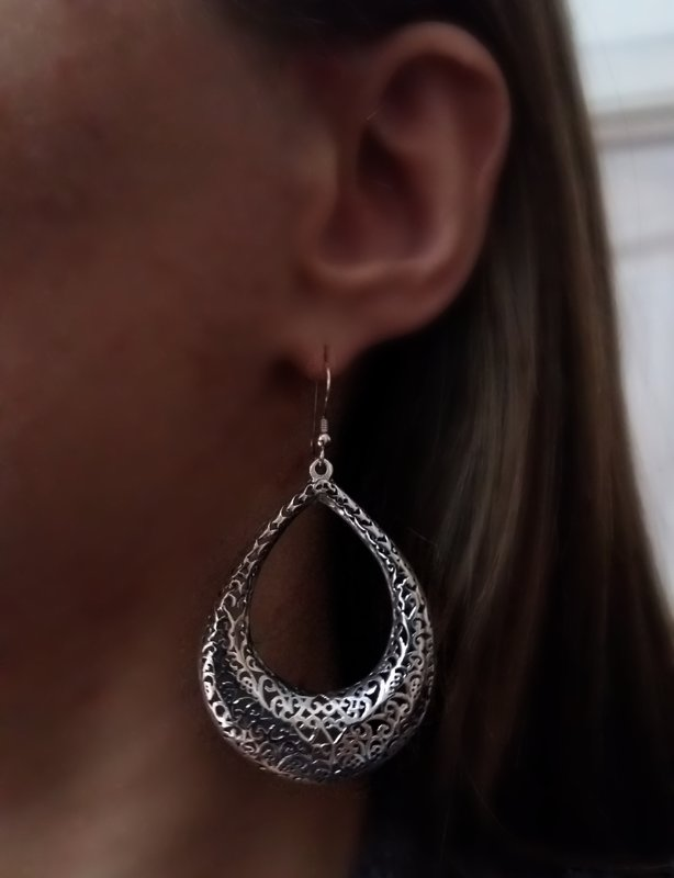 Silver Earrings Raquel