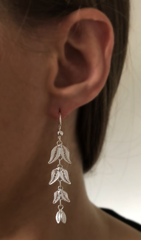 Filigree Earrings Capullos