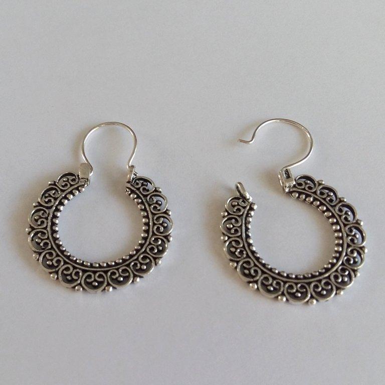 Silver Earrings Carmen