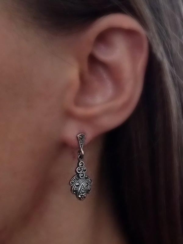 Marcasite Earrings Claudia
