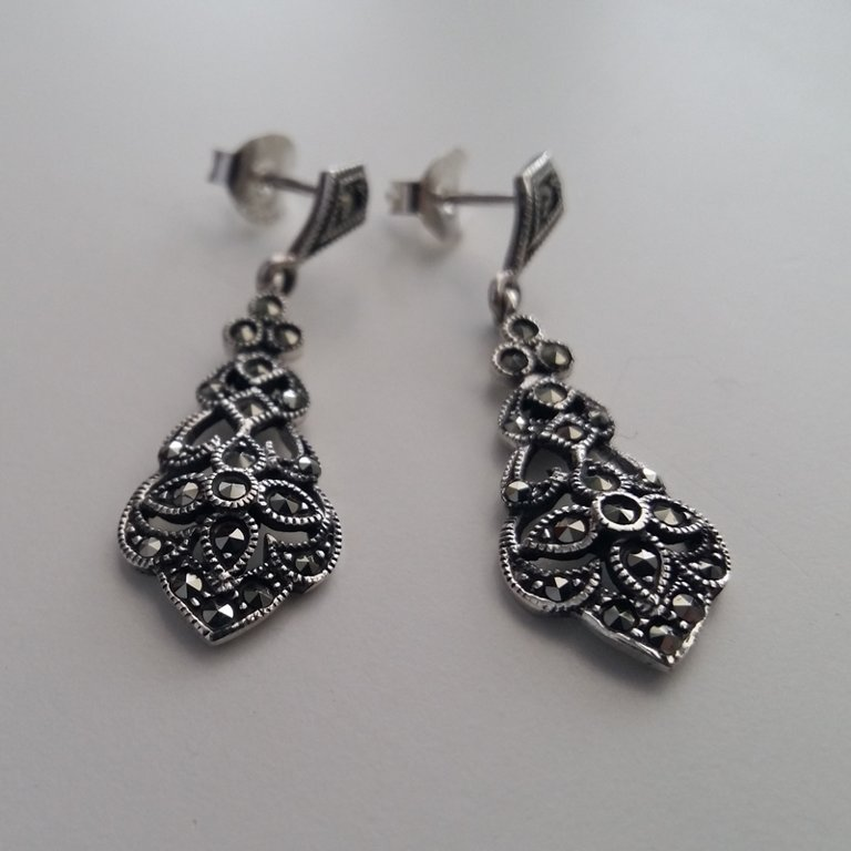 Marcasite Earrings Cristina