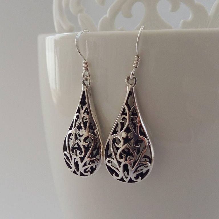 Earrings with Oriental Look Dalia