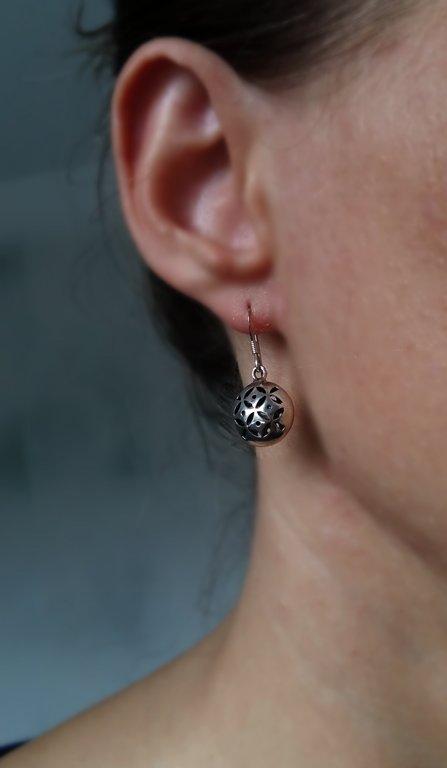 Earrings with Oriental Look Esther