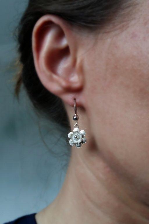 Filigree Earrings Flor de Amanecer
