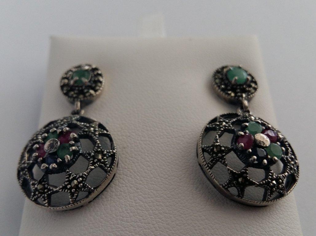 Earrings with Gemstones Estrella