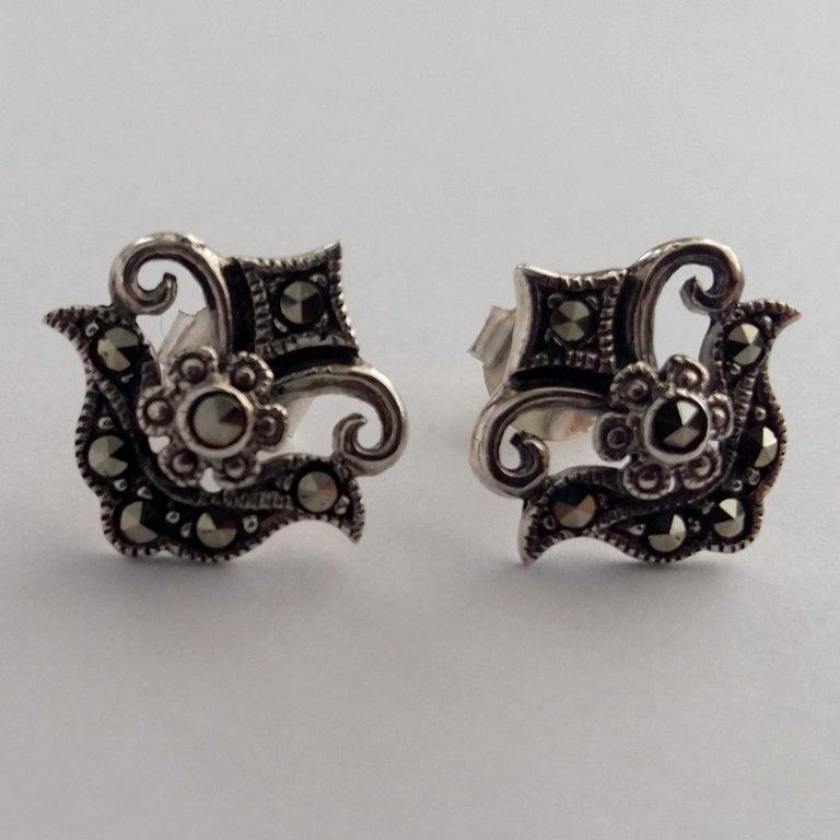 Marcasite Earrings Julia