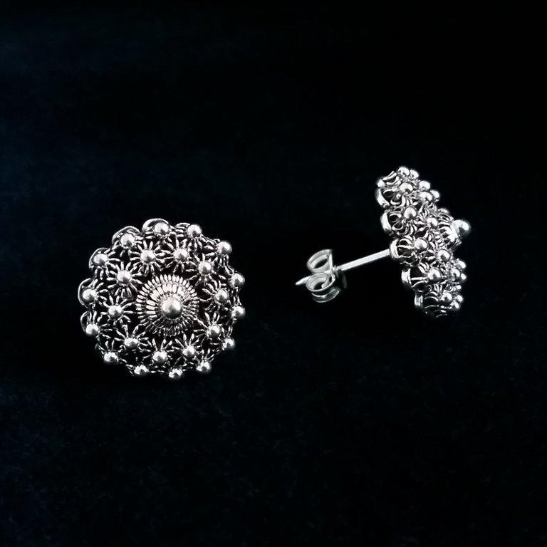 Charro Earrings Salamanca, dark