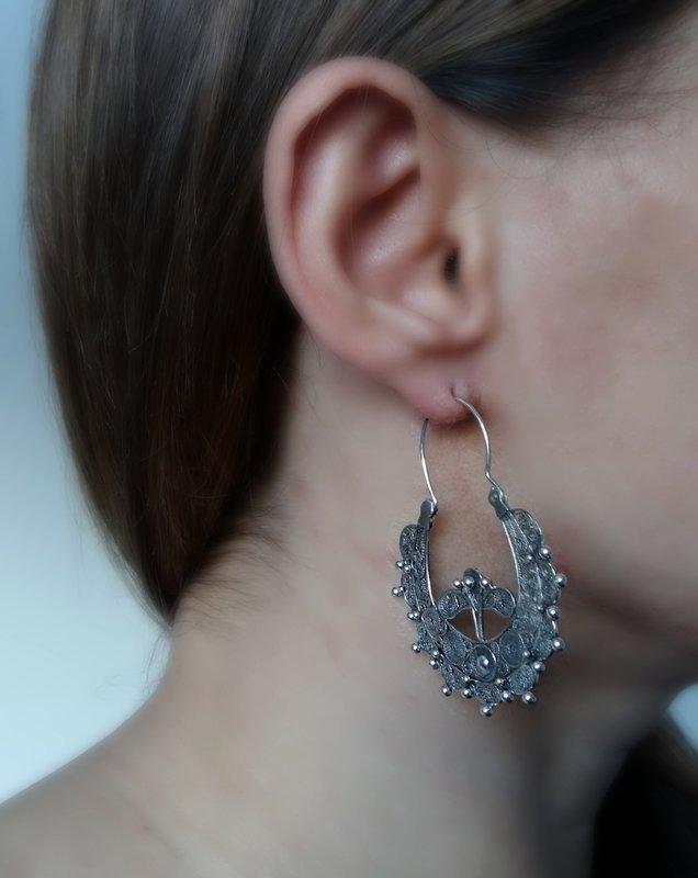 Filigree Earrings Salmantino II
