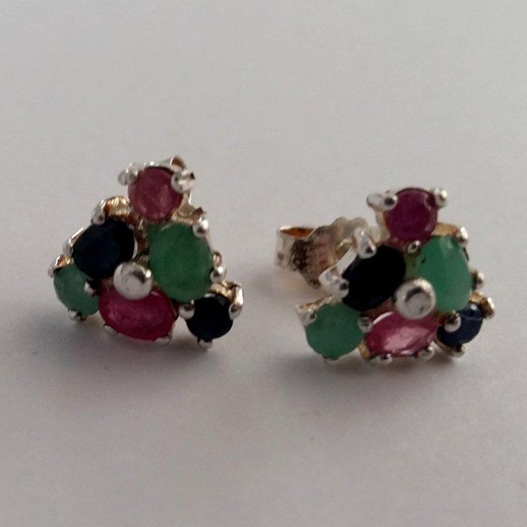 Earrings with Gems Triana