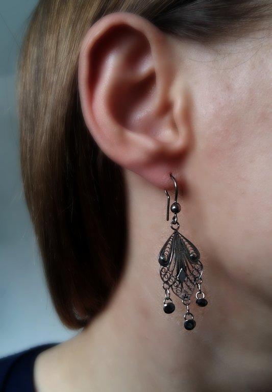 Filigree Earrings Cordoba II Dark