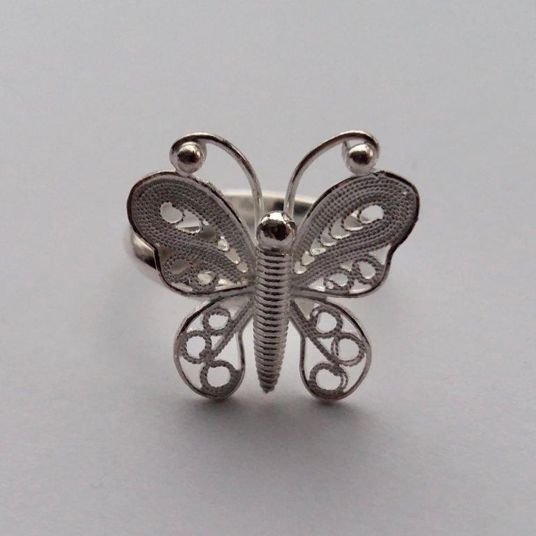 Filigree Ring Mariposa