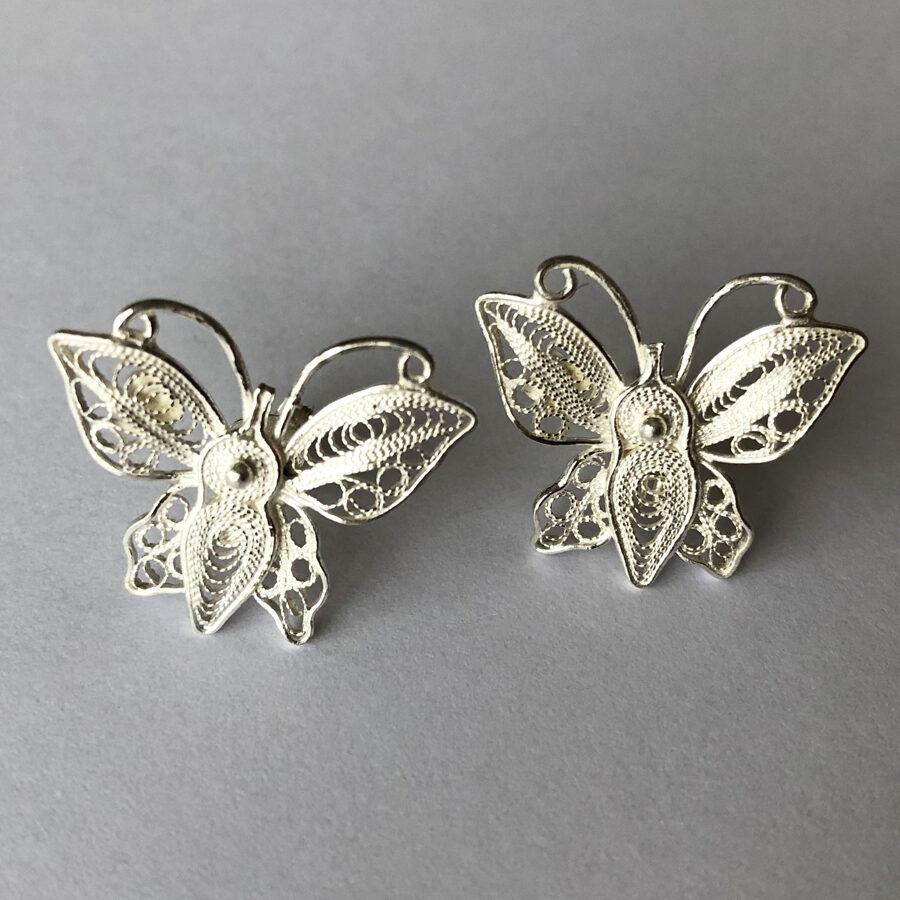 Filigree Earrings Mariposas