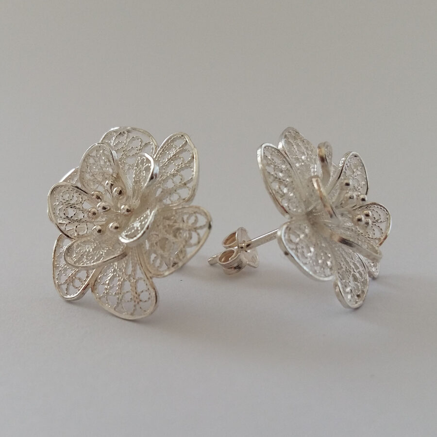 Filigree Earrings Flor de Alegria