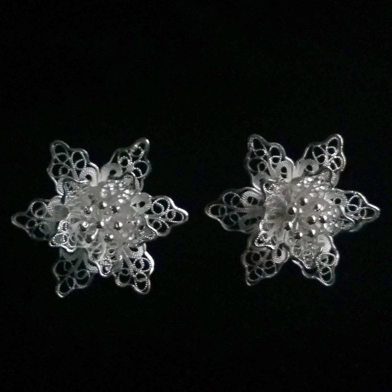 Filigree Earrings Flor de Amor Grande
