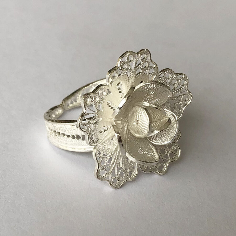 Filigree Ring Flor de Esperanza II