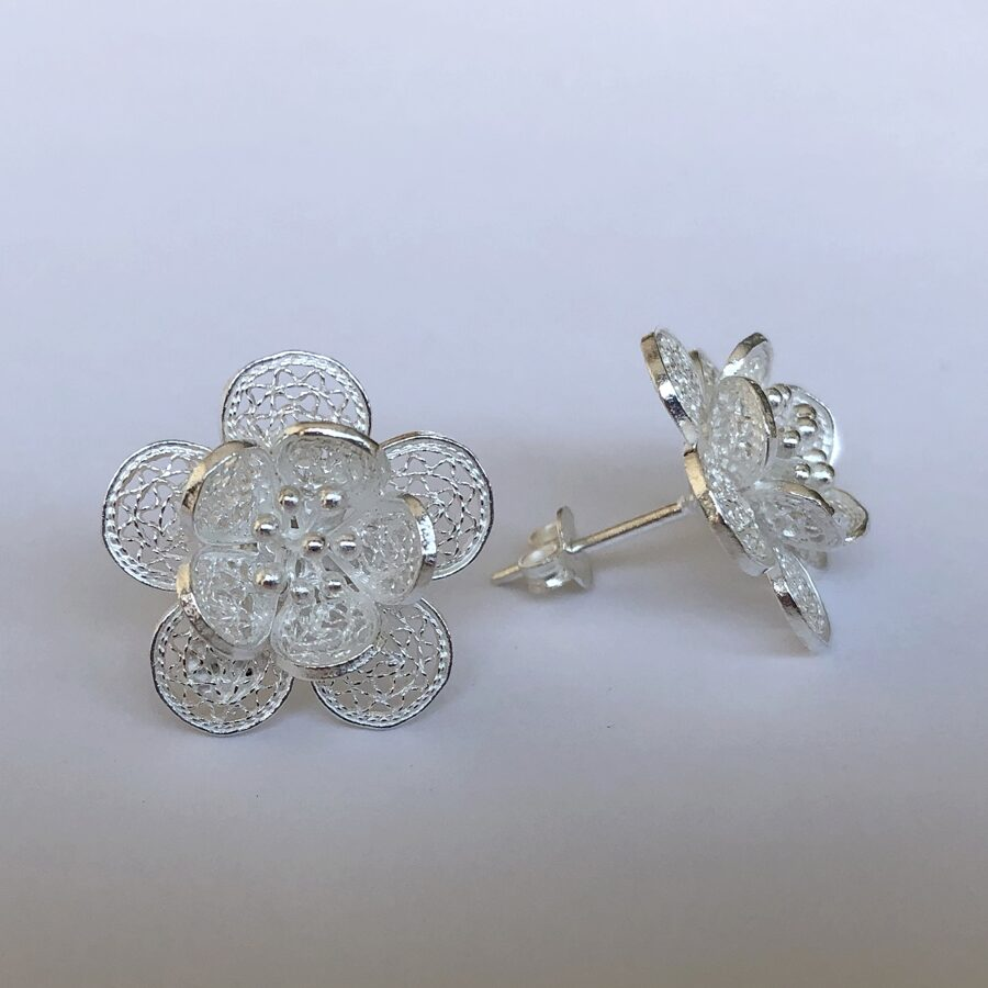 Filigree Earrings Flor de Primavera